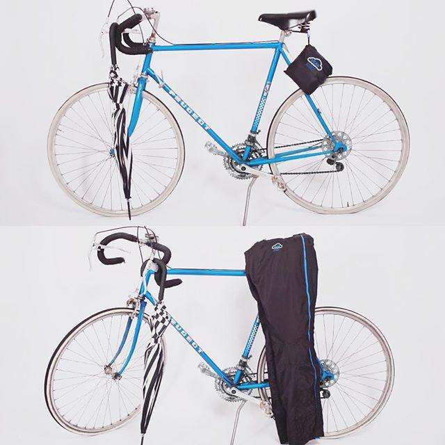 compact rain pants pouch