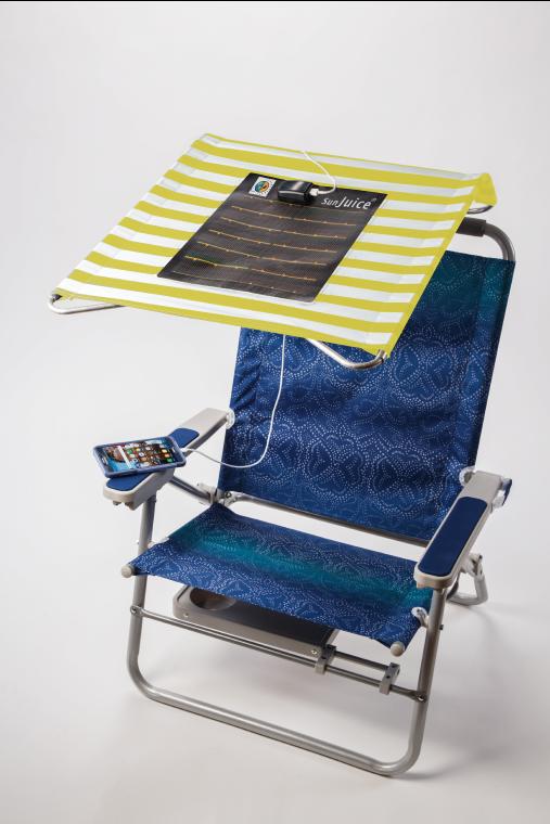 sunjuice shade on chair