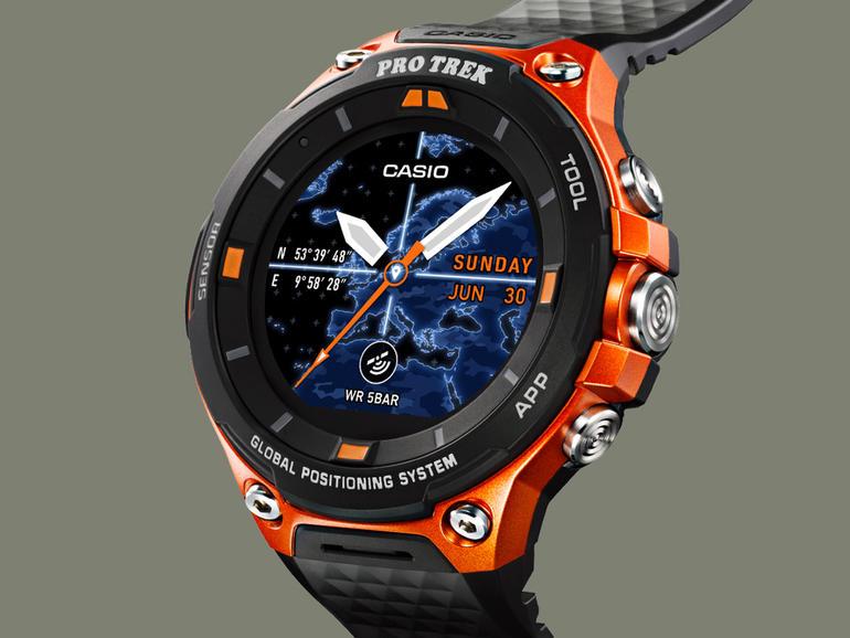 wearable tech casio smart watch