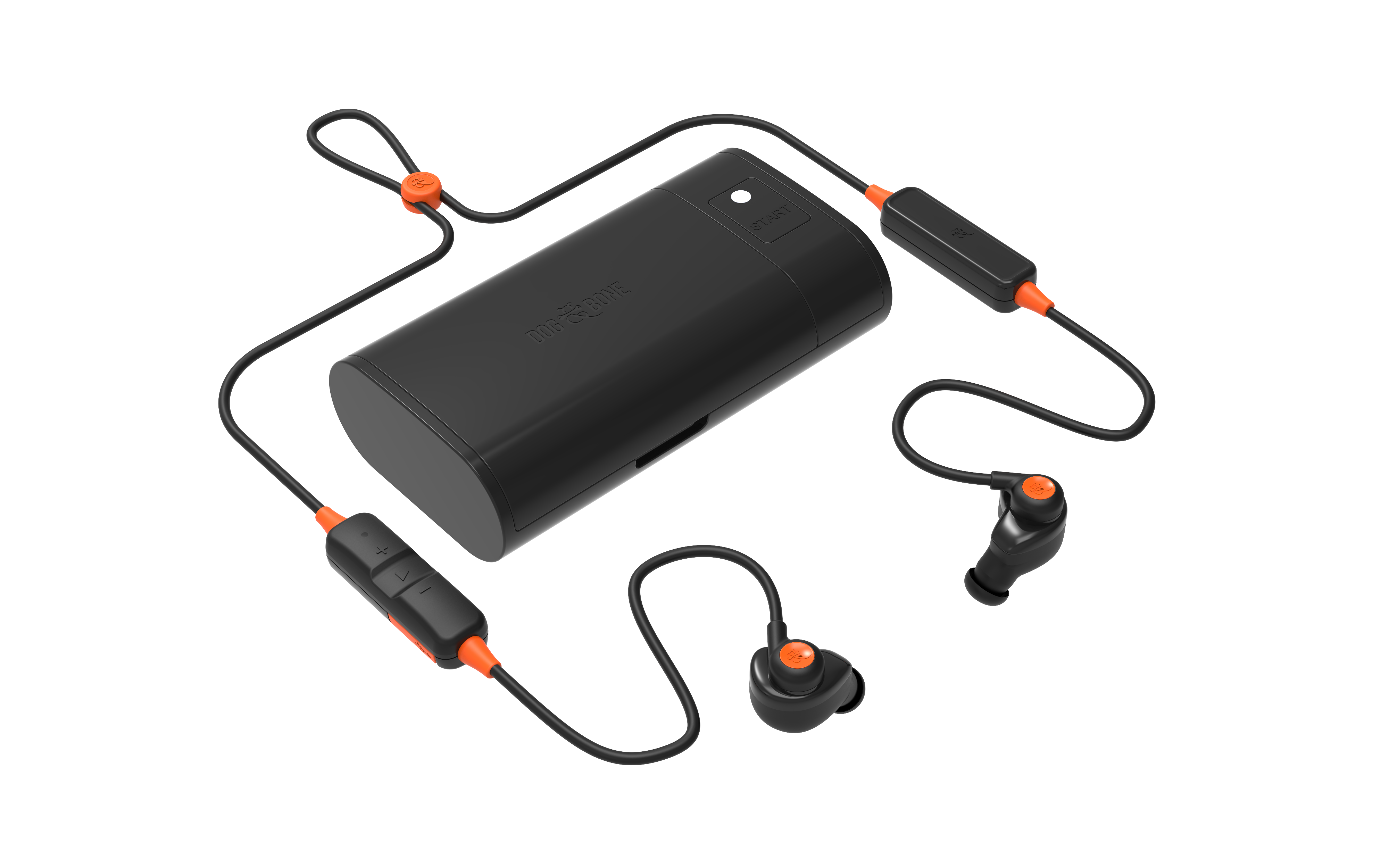 heating dock with earbuds