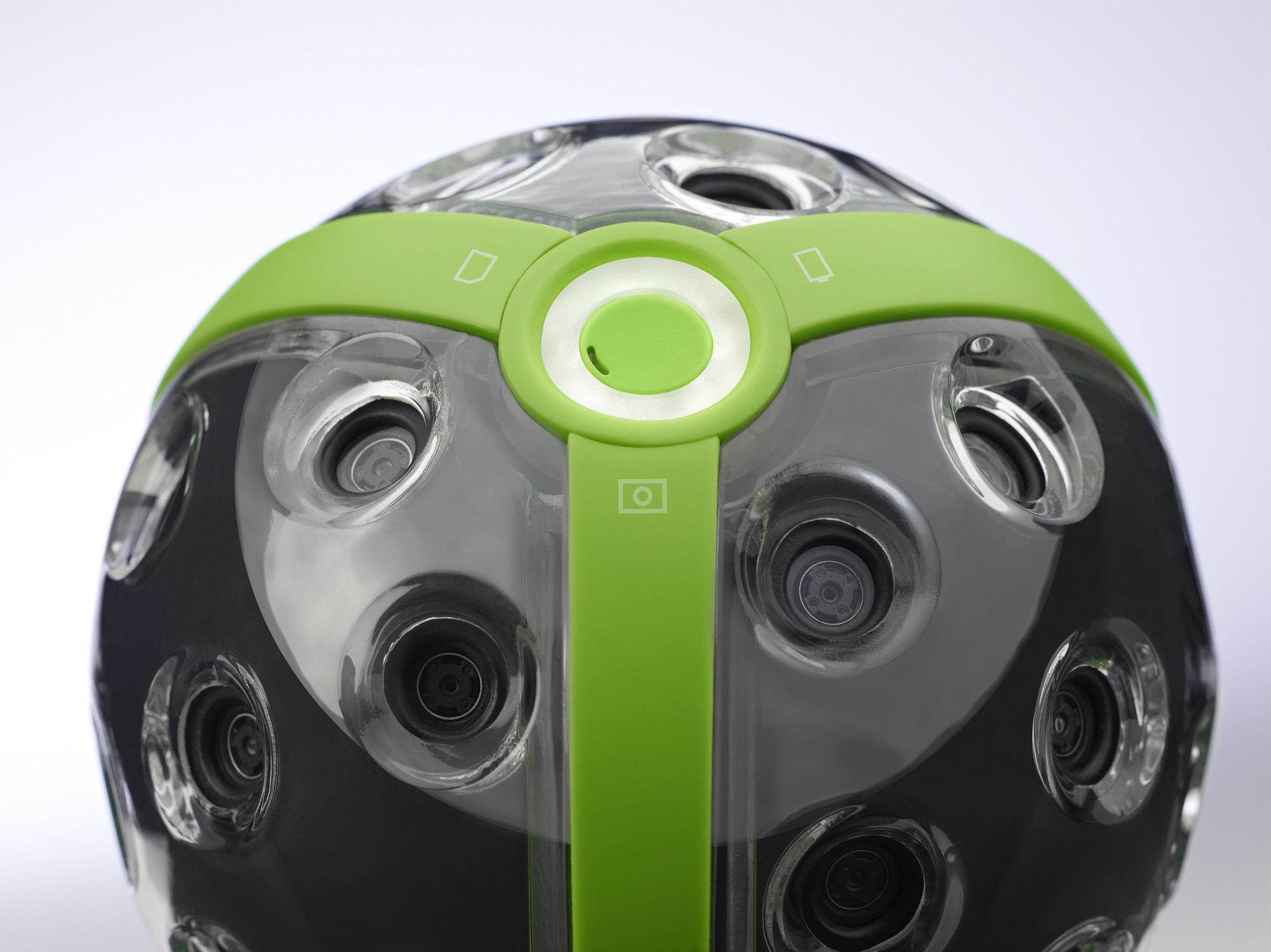 panono ball camera front