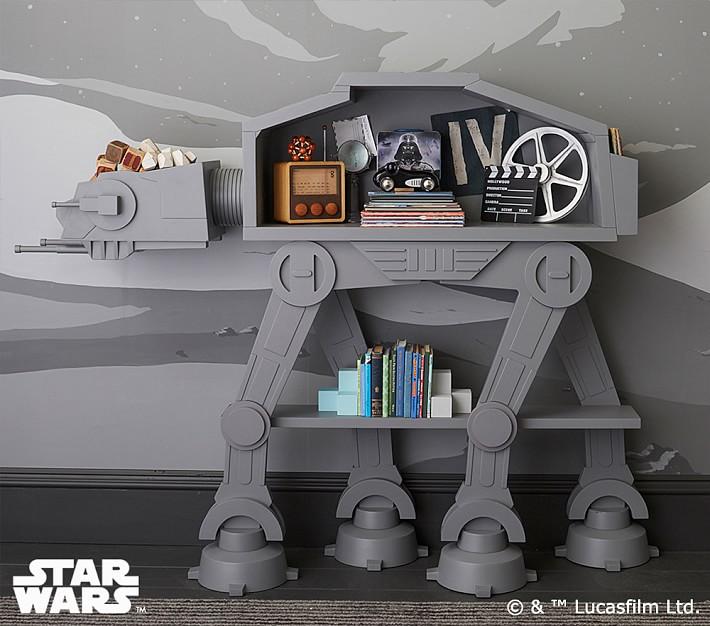 custom bookcase star wars