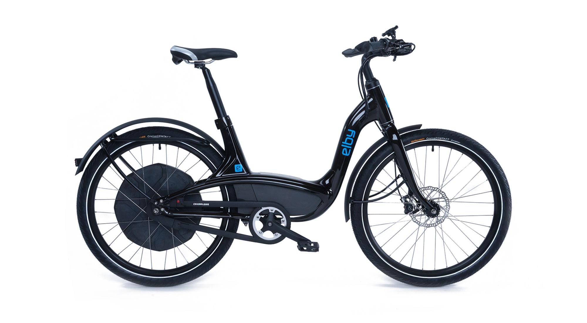 elby bike black one-speed