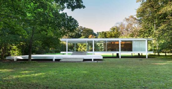 Farnsworth house exterior