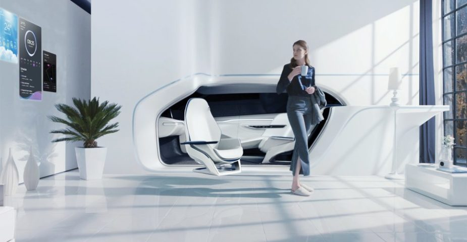 smart home integrated car