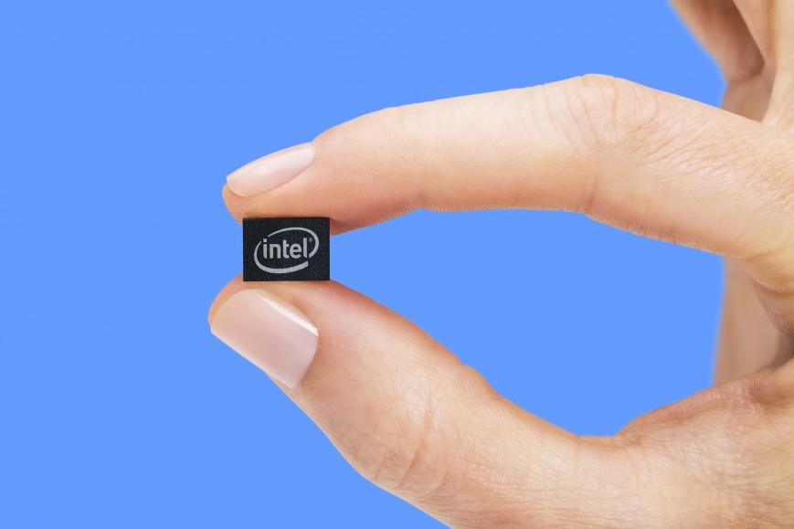 intel curie module size