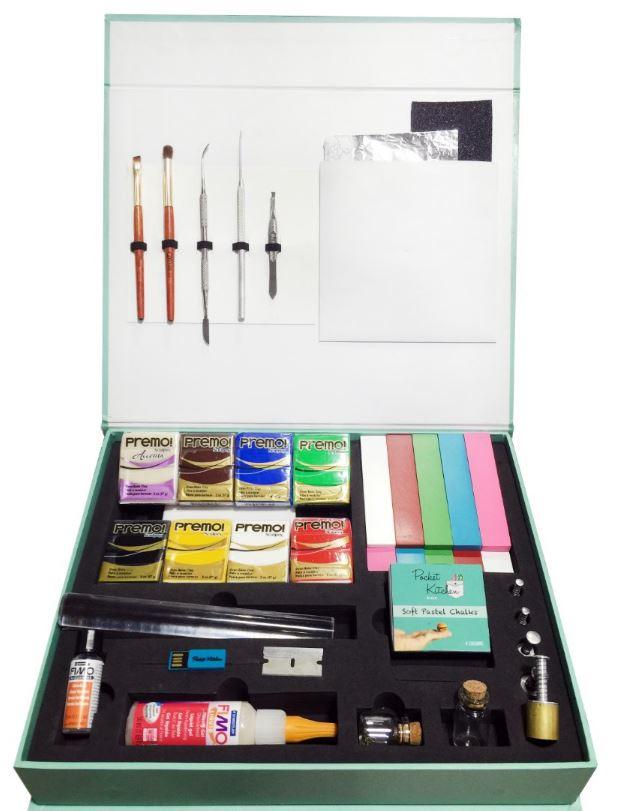 pocket kitchen kit open