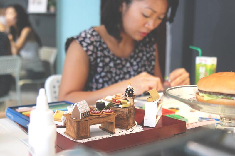 sculpting mini food