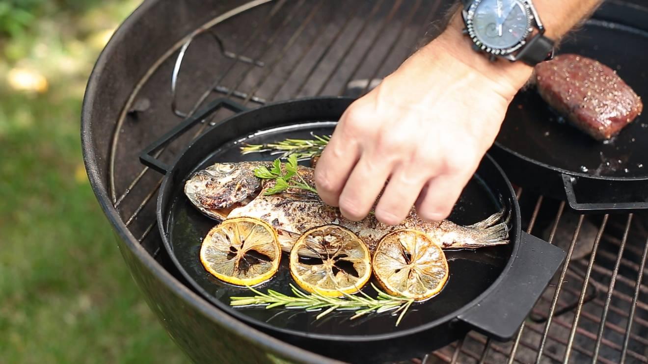 ironate cooking fish