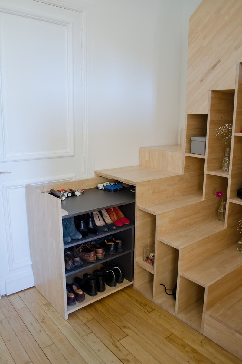 Storage Stairs 5 DoubleDuty Designs That Maximize Space