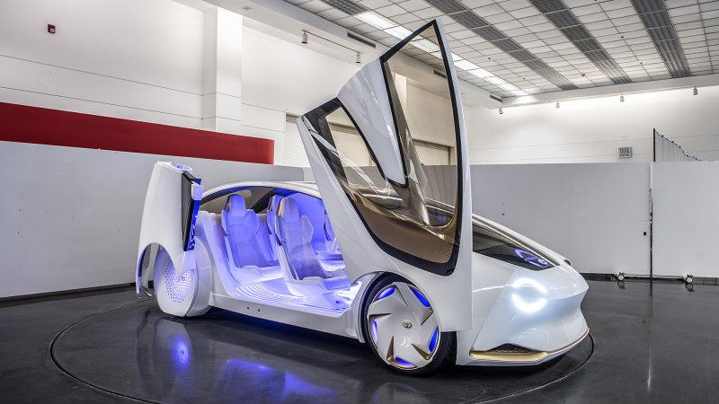 toyota concept-i car doors