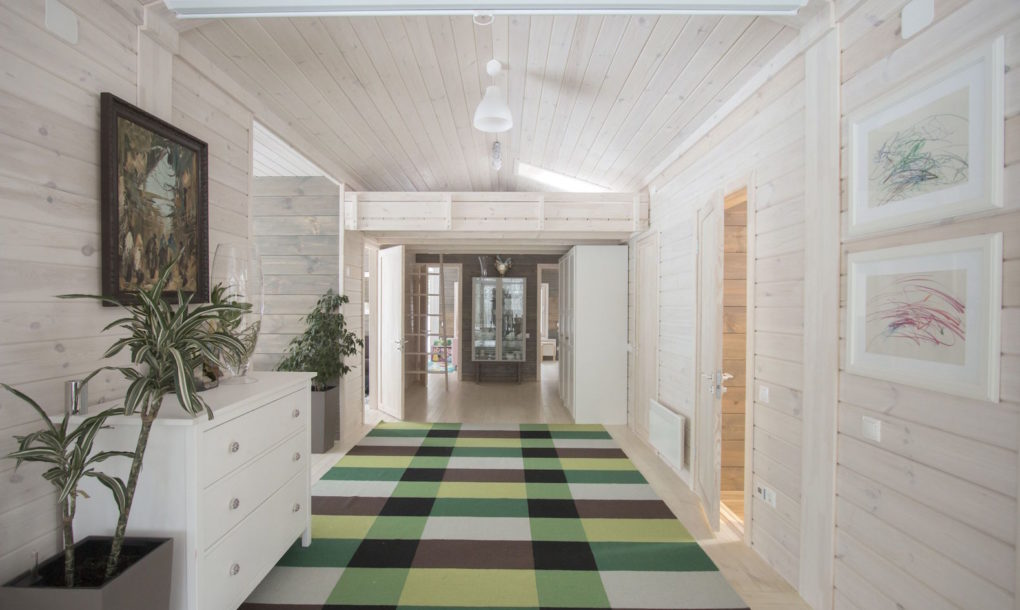 pop up home hallway