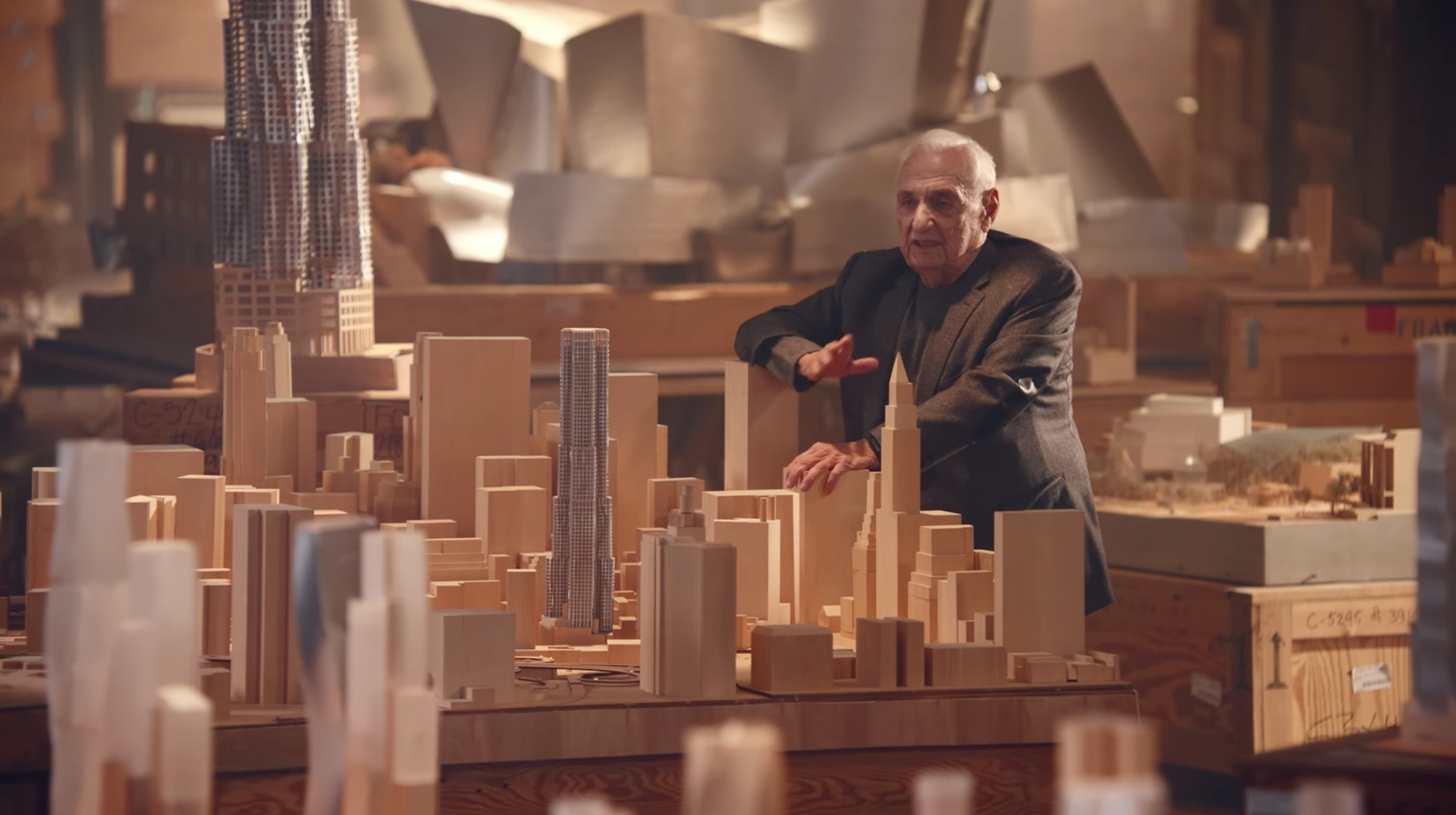 frank gehry models