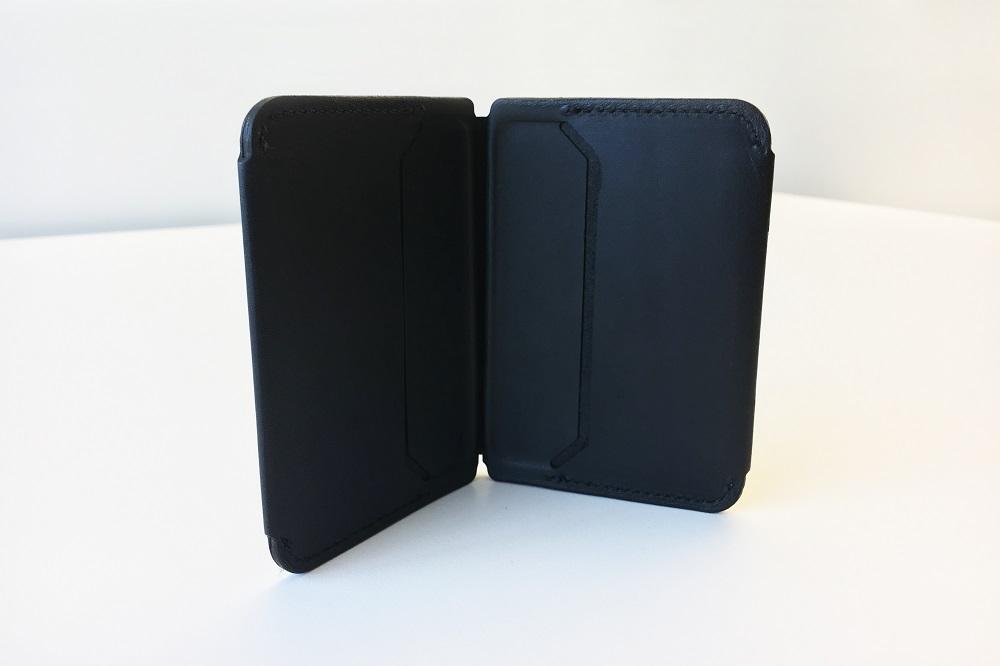 unfolded wallet