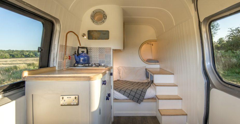 van conversion living space