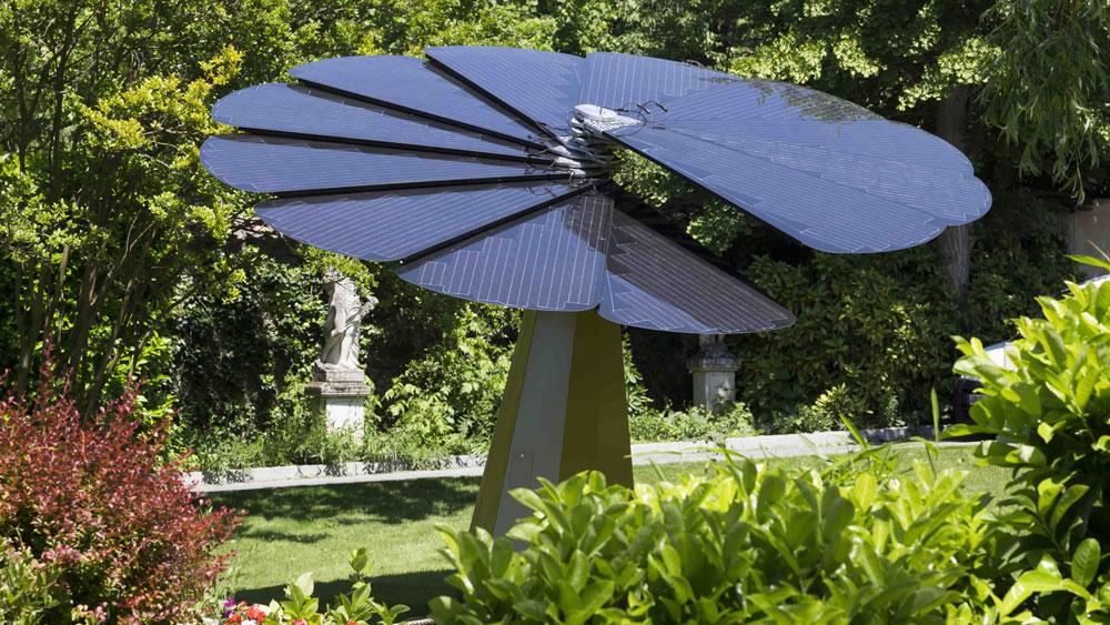 The Smart Solar Flower