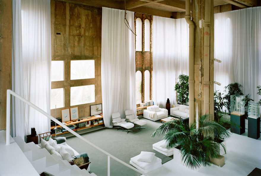 cement factory living room