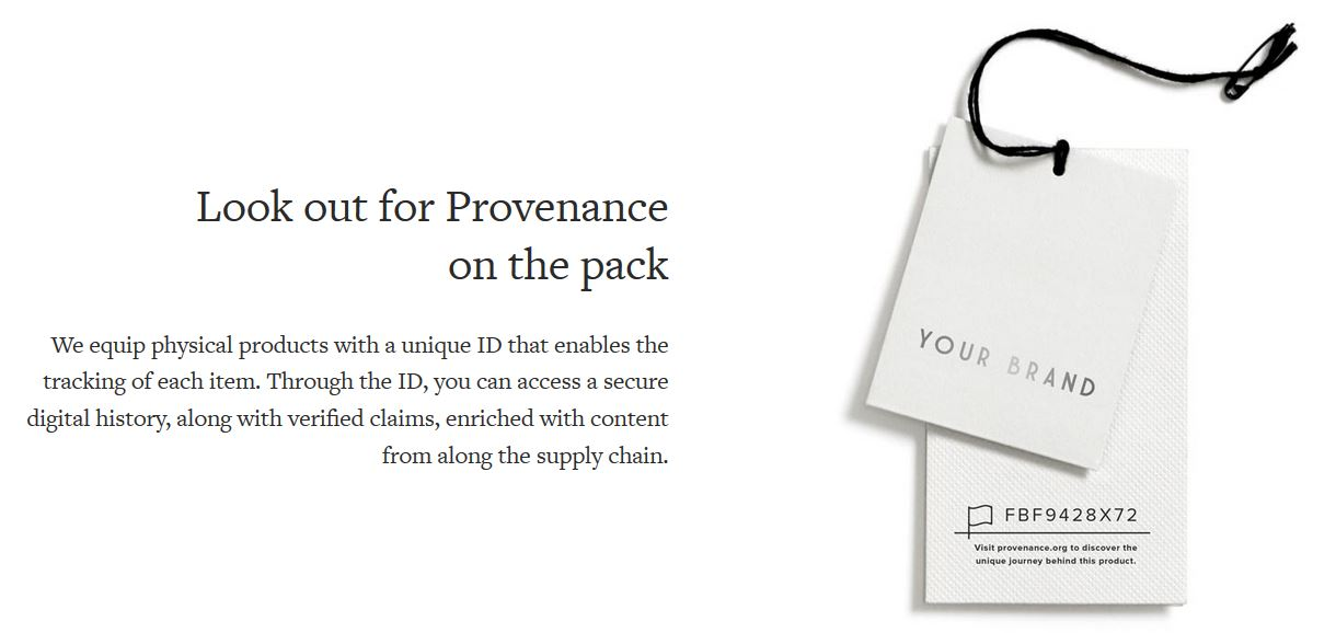 provenance tracking ID