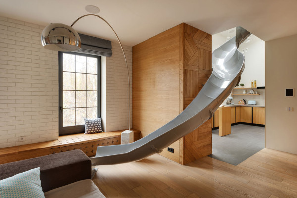 slide house ki design studio