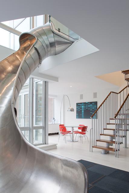 slide bottom floor