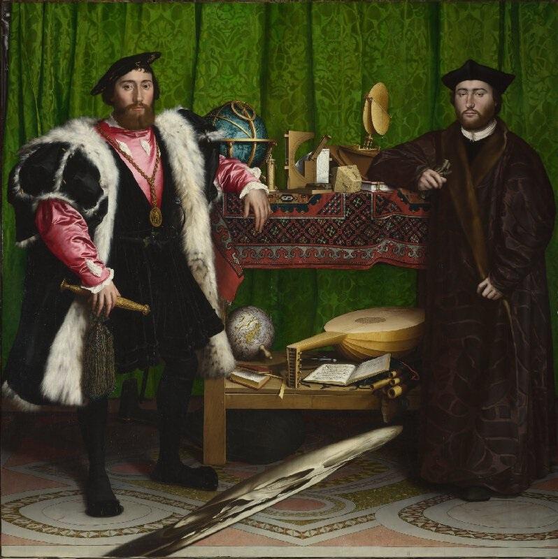 The Ambassadors - Holbein