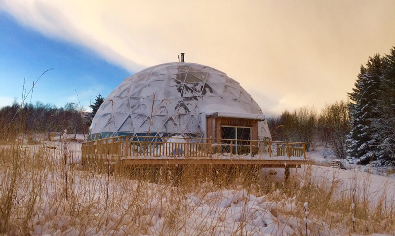 Geodesic Dome - Exterior
