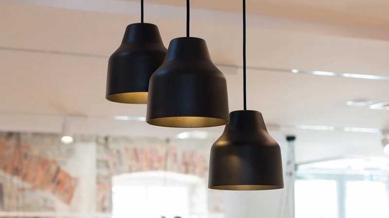 Mari Lights - Black Pendant Lamp