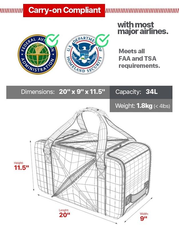 EZ Duffle -TSA Approved