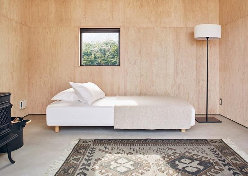 Muji Hut - Bedroom