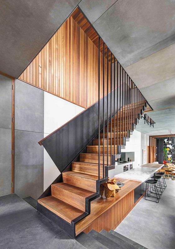 North Bondi House -Staircase