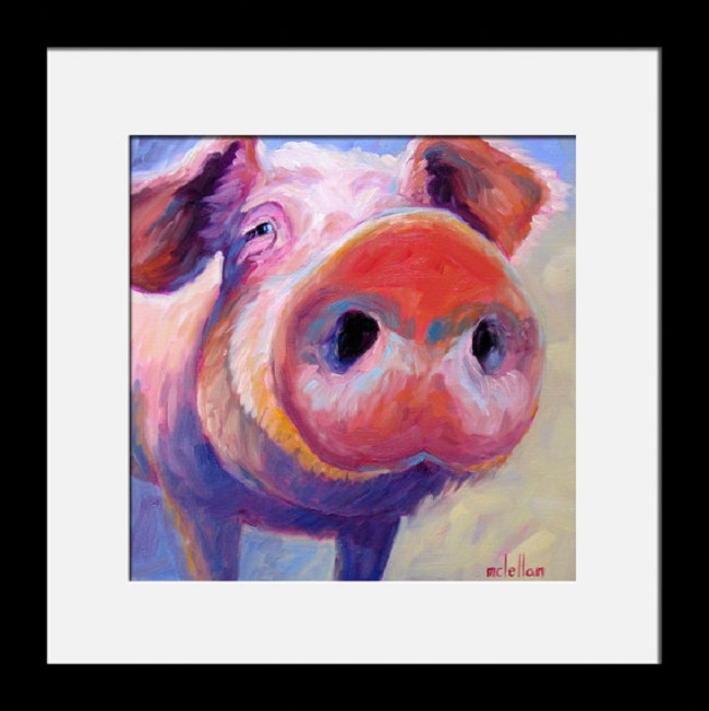 Betsy McLellan Pig