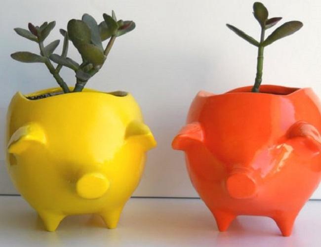 Pig Planters