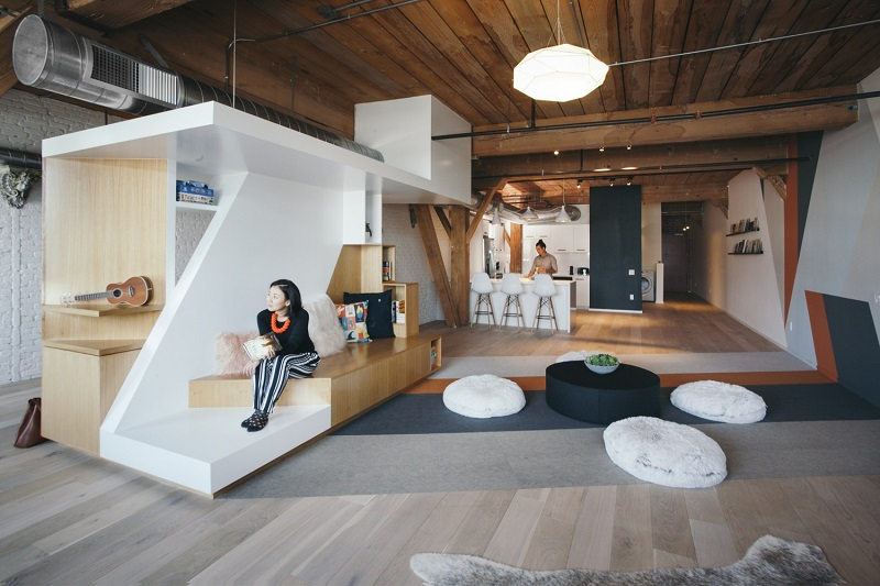 Writer S Block Home Office Loft With A Brilliant Central