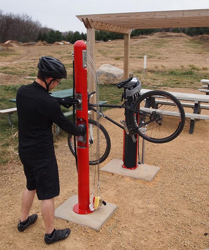 Wash and Fill Station - Bike Fixation