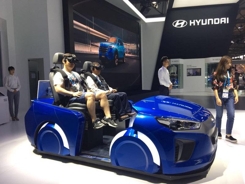 Hyundai - VR Simulator