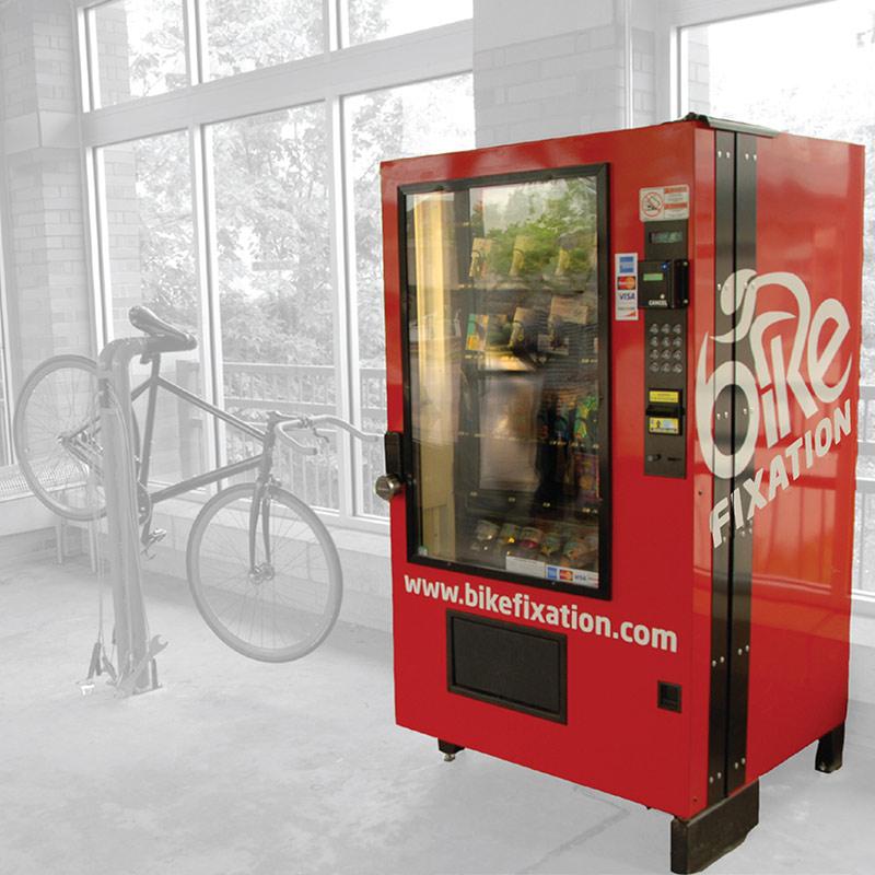 Vending Machine - Bike Fixation