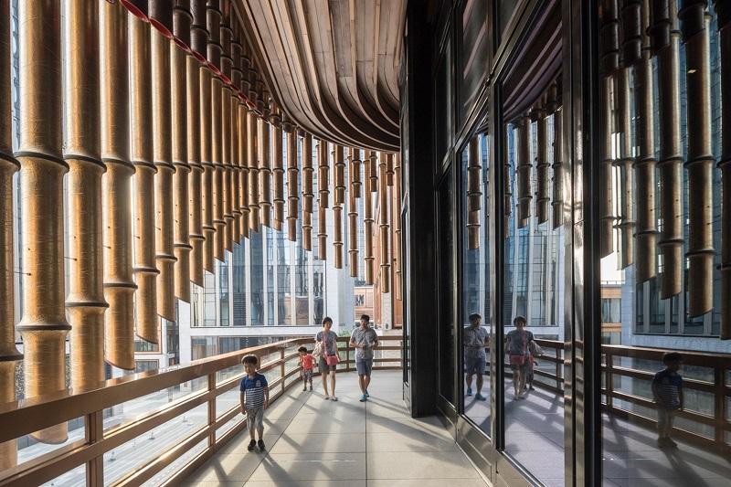 Fosun Foundation Art Center - Curtain Interior