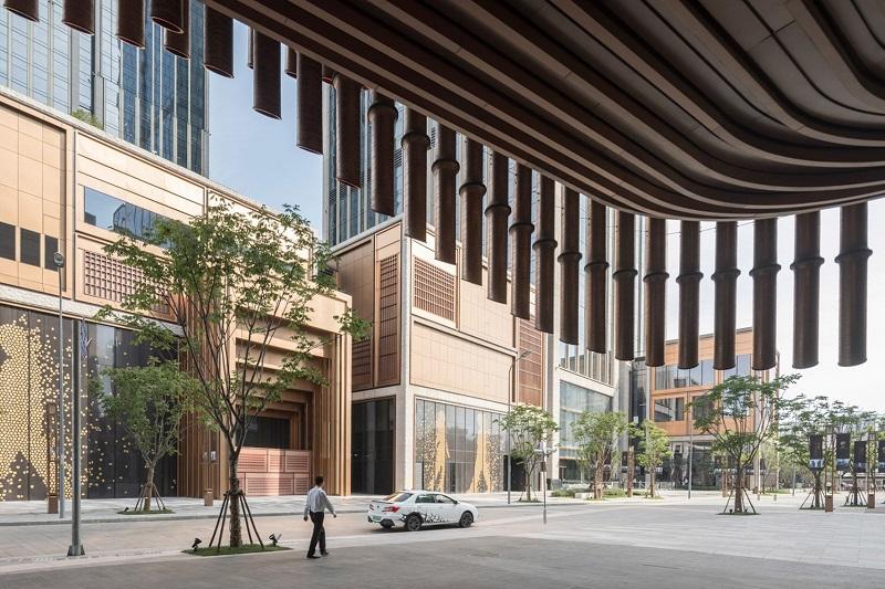 Fosun Foundation Art Center - Curtain