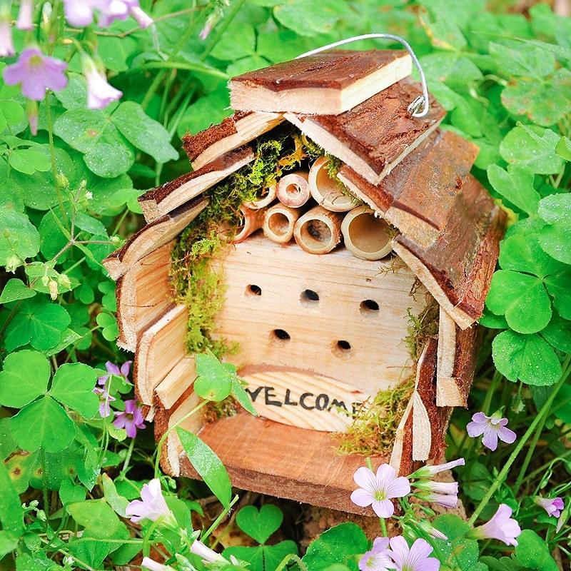 Wooden Ladybug Nesting Home