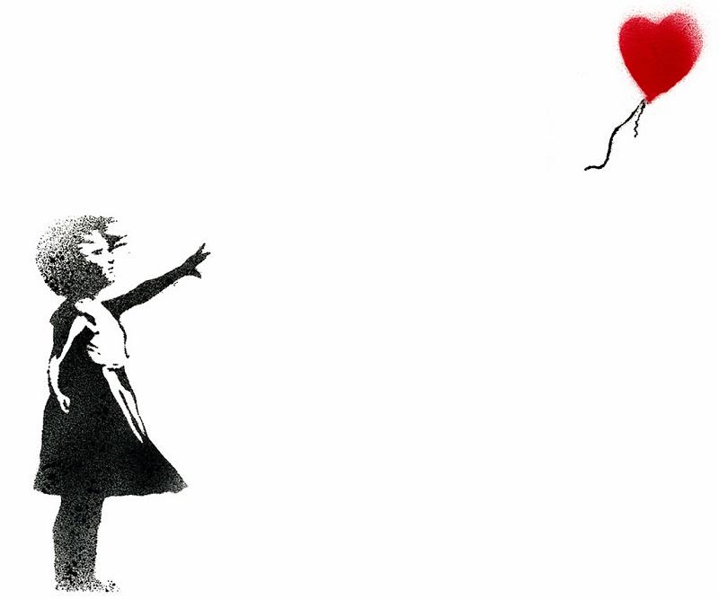 Balloon Girl - Banksy
