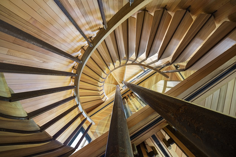Paarman Treehouse - Staircase