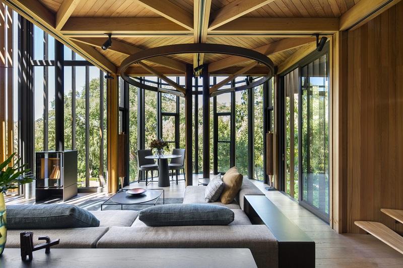 Paarman Treehouse - Living Area
