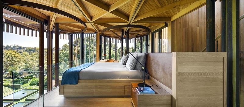 Paarman Treehouse - Bedroom