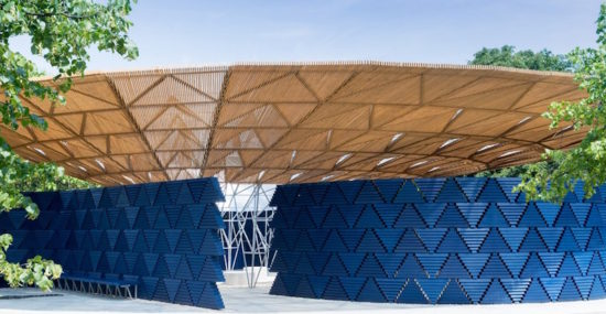 Serpentine Pavilion - Diébédo Francis Kéré