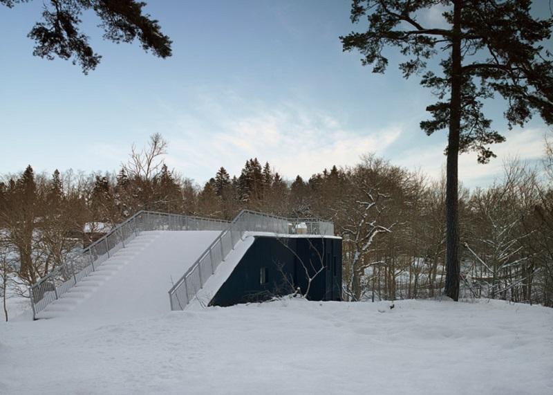 Pulkabacken House - Roof