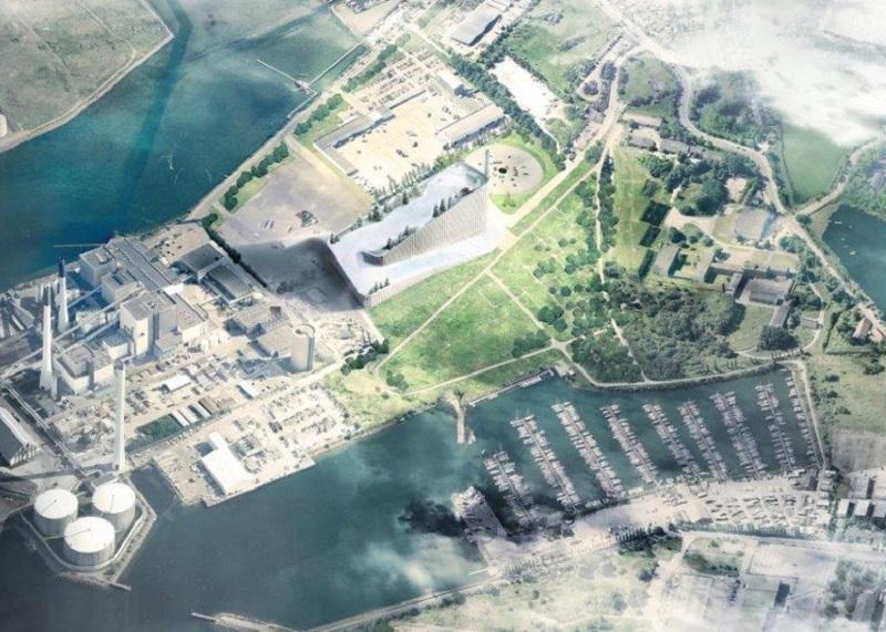 Amager Bakke - Aerial View