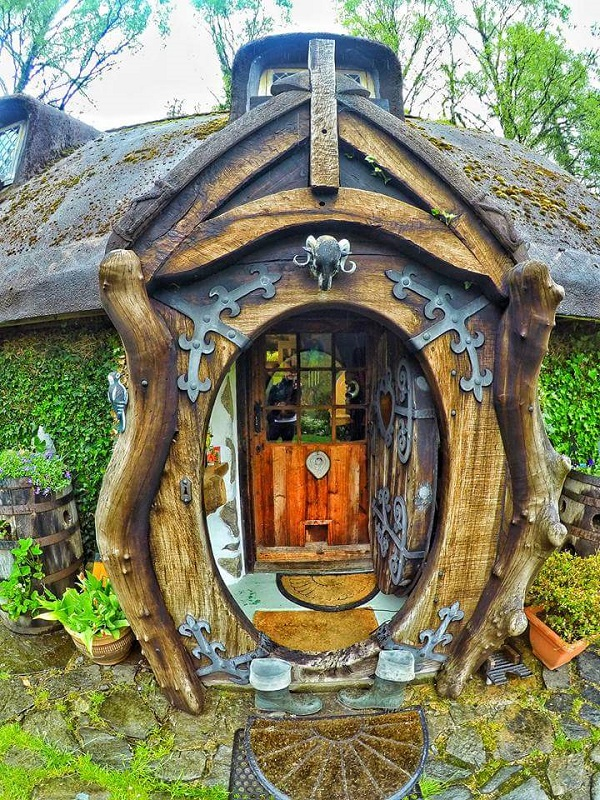 Hobbit House - Door