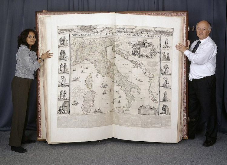 Recreating One Of The World S Biggest Books