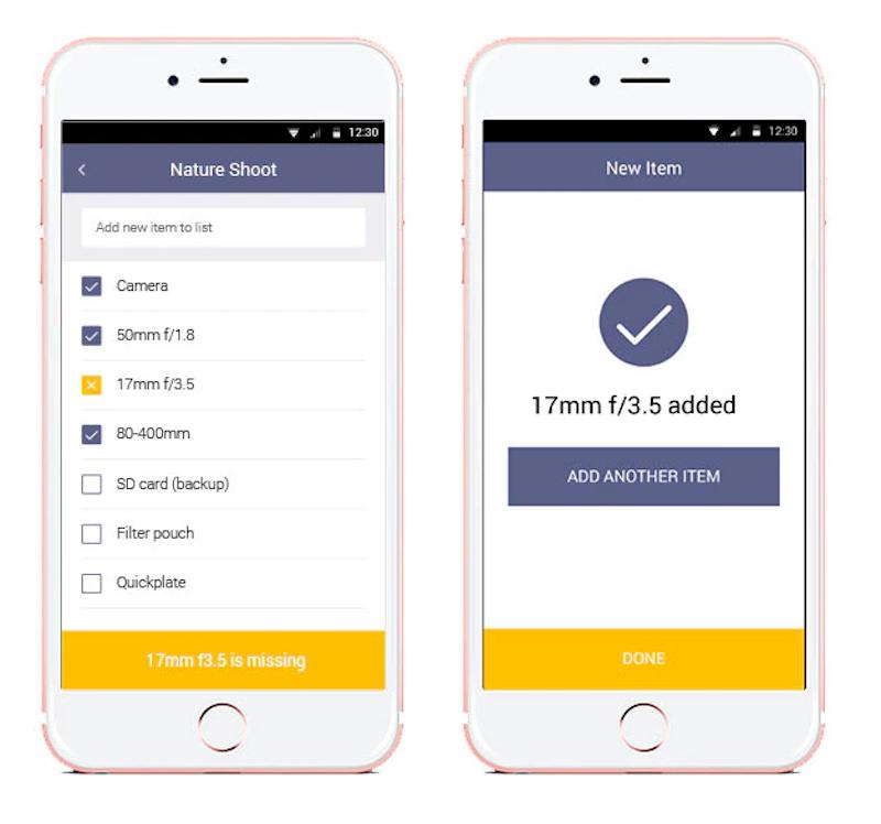 GearEye - Mobile App