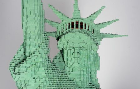 LEGO Statue of Liberty - Erik Varszegi